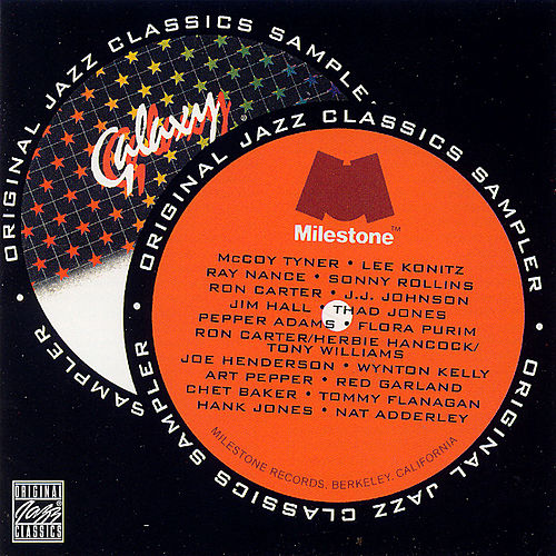 Play & Download The Milestone/Galaxy Sampler by Various Artists | Napster