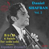 Daniel Shafran, Vol. 2: Bach's 6 Suites for Cello Solo by Daniel Shafran