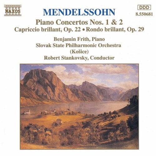 Mendelssohn: Piano Concertos Nos. 1 & 2 by Felix Mendelssohn