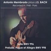Antonio Membrado plays J. S. Bach de Antonio Membrado
