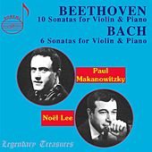 Paul Makanowitzky: Beethoven & Bach Violin Sonatas by Various Artists