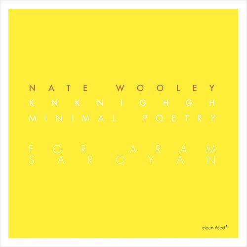 Knknighgh (Minimal Poetry for Aram Saroyan) by Nate Wooley