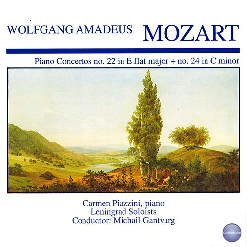 Mozart: Concerto for Piano and Orchestra No. 22 in E Flat Major, KV 482 - Concerto for Piano and Orchestra No. 24 in C Minor, KV 491 by Carmen Piazzini