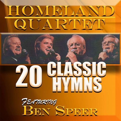 20 Classic Hymns by Homeland Quartet