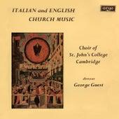 Italian & English Church Music by George Guest