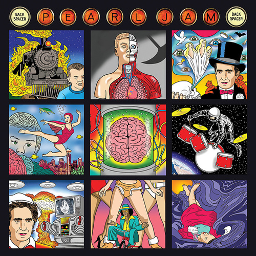 Backspacer (German Version) by Pearl Jam