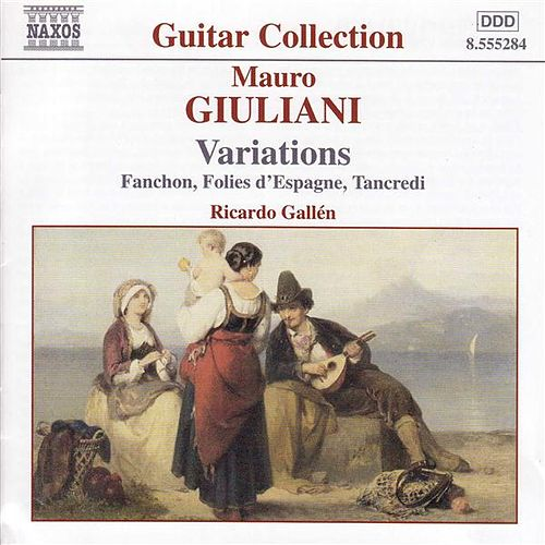 Play & Download Guitar Music Vol. 1, Variations by Mauro Giuliani | Napster