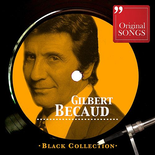 Black Collection Gilbert Bécaud de Gilbert Becaud