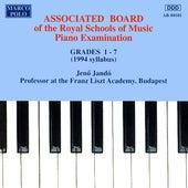 Piano Music For Students: Associated Board Piano Examination, Grades 1-7 by Jenő Jandó