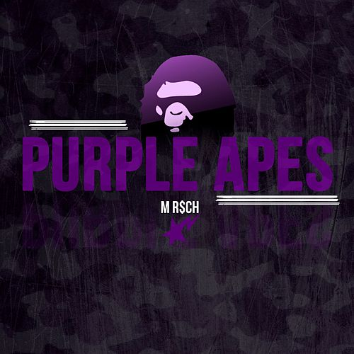 Purple Apes by M R$Ch