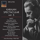 Karajan Spectacular, Vol. 5 by Philharmonia Orchestra