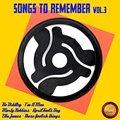 Songs to Remember, Vol. 3 von Various Artists