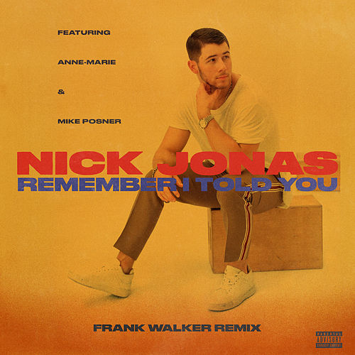 Remember I Told You (Frank Walker Remix) de Nick Jonas