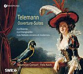 Telemann: Ouverture-suites by Various Artists