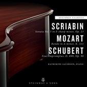 Scriabin, Mozart & Schubert: Piano Works by Katherine Jacobson
