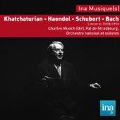 Haendel, Khatchaturian, Orchestre National de la RTF, Concert du 19/06/1954, Charles Munch (dir), Annie Jodry (violon), by Orchestre national de la RTF and Charles Munch