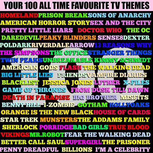 Your 100 All Time Favourite TV Themes by TV Themes