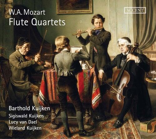 Mozart: Flute Quartets by Barthold Kuijken