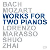 Bach & Mozart: Works for Two Pianos by Lorenzo Marasso