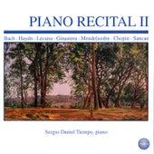 Piano Recital II by Sergio Daniel Tiempo