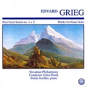 Grieg: Peer Gynt Suite No. 1, Op. 46 and Suite No. 2, Op. 55 - Works for Piano Solo by Stefan Jeschko