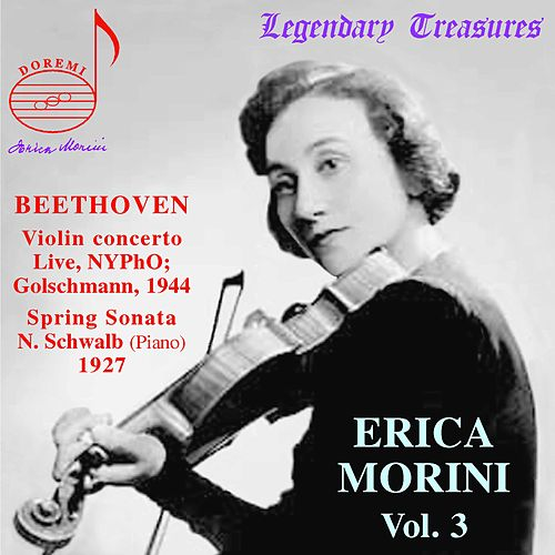 Beethoven: Violin Concerto in D Major, Sonata for Violin and Piano in F Major by Erica Morini