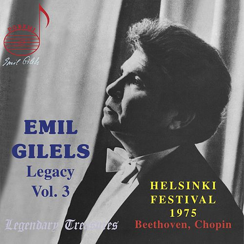 Emil Gilels Performs Beethoven and Chopin At Helsinki Festival 1975 by Emil Gilels