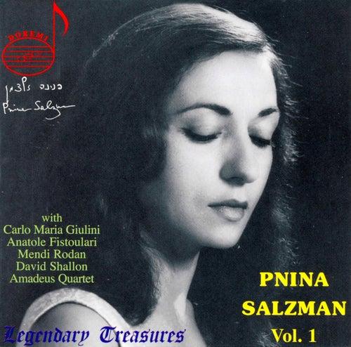 Mozart: Concertos Nos. 18 & 24 - Ben-Haim: Capriccio, et al. by Pnina Salzman