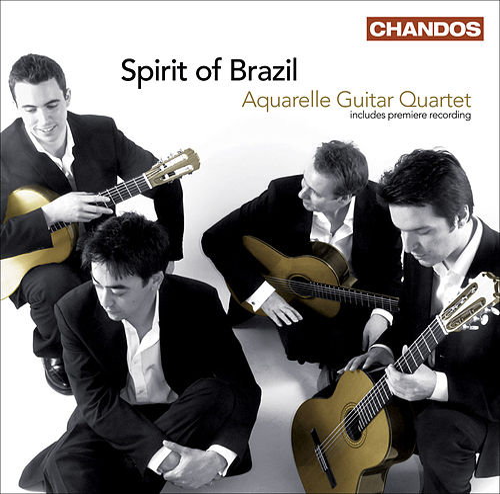 Guitar Quartets - ASSAD, C. / DYENS, R. / BELLINATI, P. / GISMONTI, E. / VILLA-LOBOS, H. (Spirit of Brazil) (Aquarelle Guitar Quartet) by Various Artists