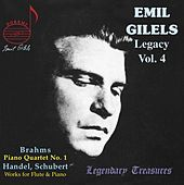 Emil Gilels Legacy, Vol. 4 by Emil Gilels