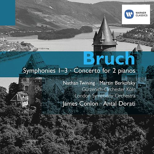 Bruch: Symphonies and Concerto for 2 pianos by Various Artists