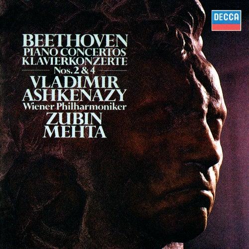 Beethoven: Piano Concertos Nos. 2 & 4 by Zubin Mehta