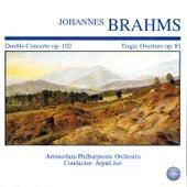 Brahms: Double Concerto, Op. 102 - Tragic Overture, Op. 81 by Arpád Joó