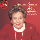 Mozart-Sonatoas K. 281,282,284,545 by Alicia De Larrocha