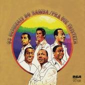 Pra que Tristeza by Os Originais Do Samba