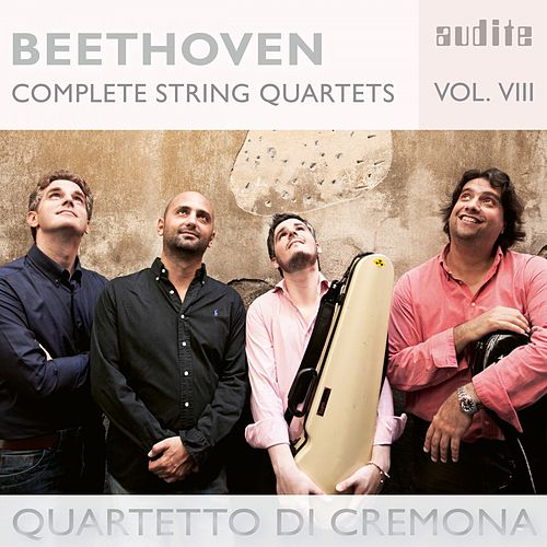 Beethoven: Complete String Quartets, Vol. 8 by Quartetto di Cremona