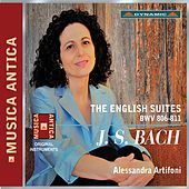 Bach: The English Suites, BWV 806-811 by Alessandra Artifoni