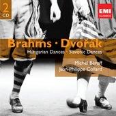 Brahms: Hungarian Dances; Dvorak: Slavonic Dances by Various Artists