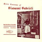 Seven Canzonas of Giovanni Gabrieli by Giovanni Gabrieli