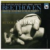 Beethoven: Piano Concerto No. 4, Op. 58 & Piano Concerto No. 2, Op. 19 by Rudolf Serkin