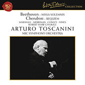 Beethoven: Missa Solemnis, Op. 123 - Cherubini: Requiem Mass No. 1 in C Minor by Arturo Toscanini