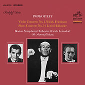 Prokofiev: Violin Concerto No. 1 in D Major, Op. 19 & Piano Concerto No. 5 in G Major, Op. 55 by Erich Leinsdorf