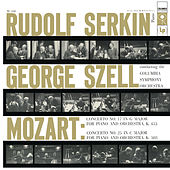 Mozart: Piano Concerto No. 17 in G Major, K. 453 & Piano Concerto No. 25 in C Major, K. 503 by Rudolf Serkin