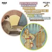Prokofiev: Piano Concerto No.5 in G Major, Op. 55 & Weill: Kleine Dreigroschenmusik (Little Threepenny Music) by Erich Leinsdorf