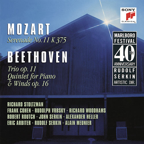 Mozart: Serenade No. 11 in E-Flat Major, K. 375 & Beethoven: Trio in B-Flat Major, Op. 11 & Quintet in E-Flat Major, Op. 16 by Richard Stoltzman