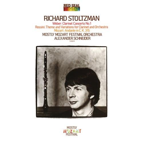 Richard Stoltzman Plays Weber, Mozart & Rossini by Richard Stoltzman