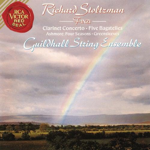 Finzi: Bagatelles, Op. 23 & Clarinet Concerto in C-Minor, Op. 31 & Ashmore: Four Seasons by Richard Stoltzman