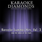Karaoke Summer Hits, Vol. 3 by Karaoke - Diamonds