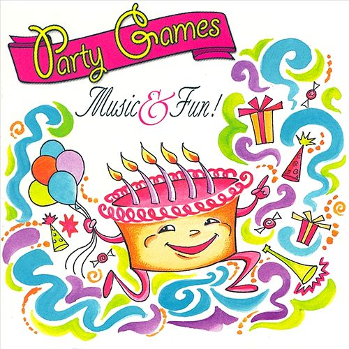 Party Games, Music and Fun by Amos Milburn