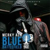 Blue Battlefield by Merky Ace